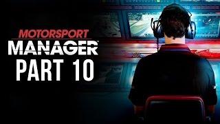 Motorsport Manager Gameplay Walkthrough Part 10 - CHAMPIONS & PROMOTION (Career Mode)