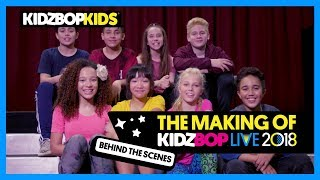 The Making of KIDZ BOP Live 2018 (Behind The Scenes)