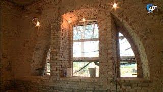 Сотрудники музея-заповедника рассказали о ходе реставрации усадебного дома Анны Орловой-Чесменской