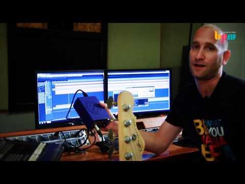 מדריך הקלטת גיטרה בס