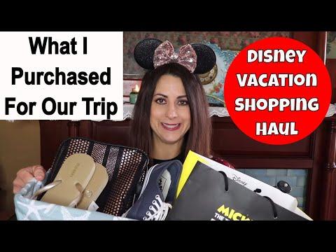 717f006f05 Disney Vacation Shopping Haul