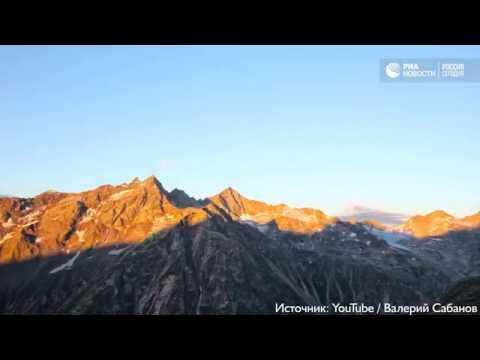 Кавказские горы. Таймлапс-видео