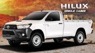 Toyota Hilux 4x2 Single Cabin | 2019 Complete Review In Pakistan