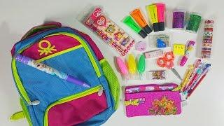 Okul Çantamda Ne Var | Okul Alışverişim | Okula Dönüş | EvcilikTV