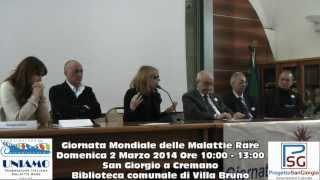 preview picture of video 'Giornata Mondiale delle Malattie Rare - San Giorgio a Cremano - 2 Marzo 2014'