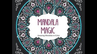 Flip Through Mandala Magic Coloring Book