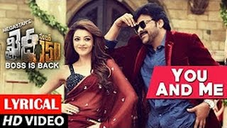 You & Me Song Teaser  Khaidi No 150  Chiranjeevi Kajal  Rockstar DSP  V V Vinayak