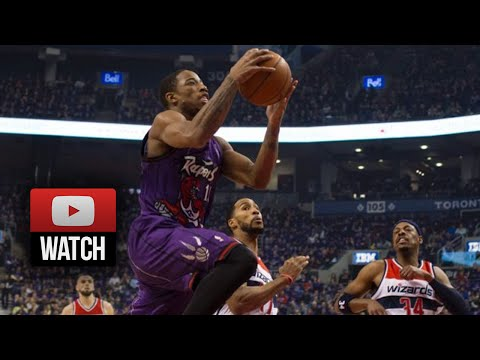 DeMar DeRozan Full Highlights vs Wizards (2014.11.07) – 25 Pts