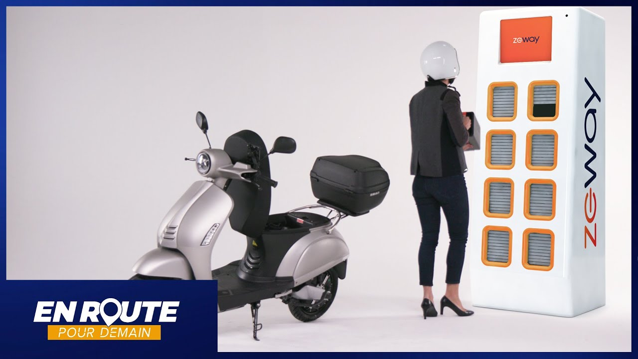 En route pour demain #06 : un scooter qui se recharge en 50 secondes