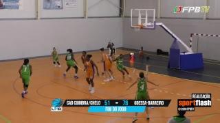Liga Feminina   CAD Coimbra/Chelo - GDESSA-Barreiro