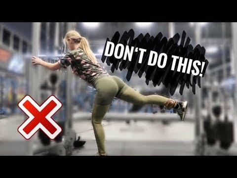 5 Fehler beim Beine & Po Training I Beine straffen & Muskelaufbau I Vermeide diese Fehler ! Teil 1