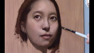 Portrait Painting Tutorial | A Visual Puzzle