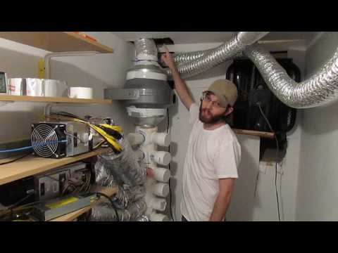 Bitcoin mining in a shed  How I started mining bitcoin