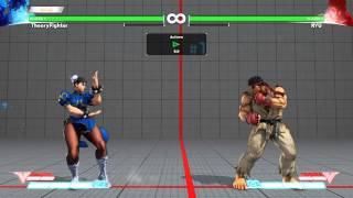 SFV Tutorial - Chun Instant Air Lightning Legs (Execution and Uses)
