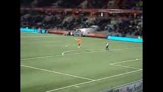 preview picture of video 'FC Lorient FC Sochaux le speaker chauffe l'ambiance'