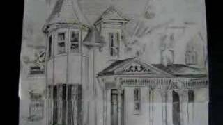 Historic Haskell House Lawrence Kansas (Drawing)