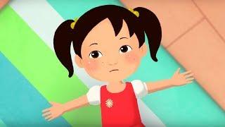 Английский язык для малышей - Мяу-Мяу - Я тебя люблю (I love you) - учим английские слова