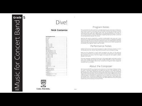 Dive (SPS89) by Nick Constanza