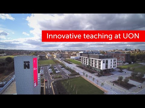 Innovative, engaging teaching translates into the best opportunities for graduates of the University of Northampton