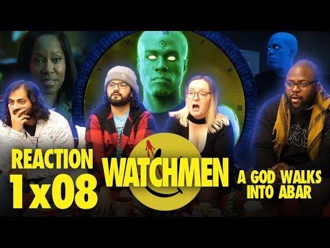 Watchmen - 1x8 A God Walks in Abar - Group Reaction