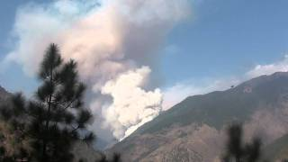 preview picture of video 'Pożar lasu w Langtang National Park'