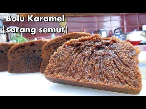 Video Bolu Karamel - Resep Cake Bolu Karamel Sarang Semut (Caramel Cake Recipe)