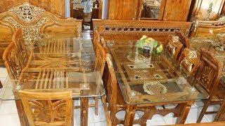 সেগুন কাঠের ডাইনিং টেবিলের দাম।Segun Wooden Dining Table Price Dining Table Design