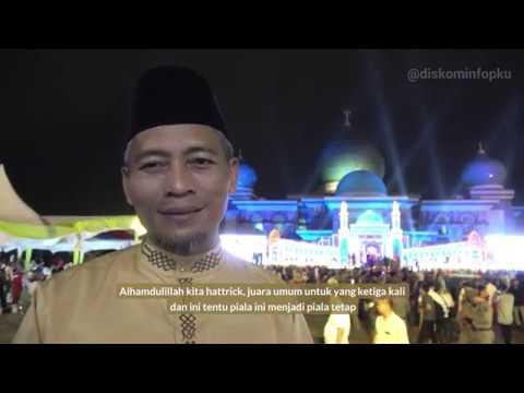 Pekanbaru Juara Umum MTQ XXXVII Tingkat Provinsi Riau
