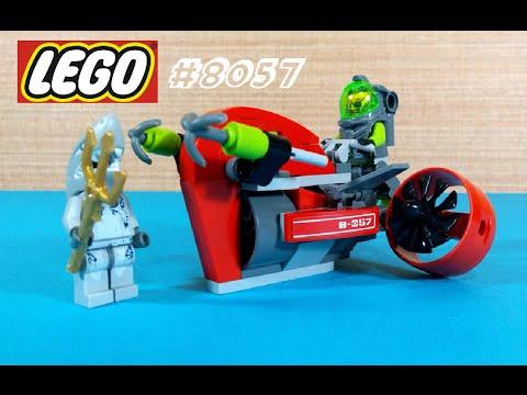 Vidéo LEGO Atlantis 8057 : Le scooter des profondeurs