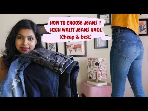 How to buy High Waist Jeans? Affordable High Waist Jeans Haul – Tips for Buying High Waisted Jeans