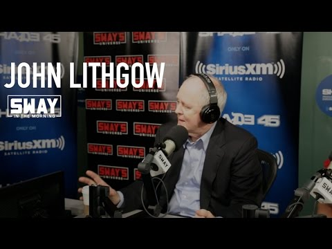 John Lithgow Kicks a Rap on Sway in the Morning