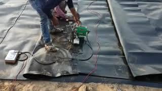 HDPE Geomembrane Installation