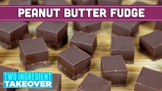 peanut butter and chocolate frosting fudge recipe