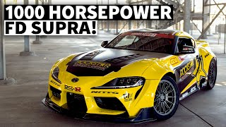 The Fastest Toyota in Formula D: Papadakis Racing A90 Supra