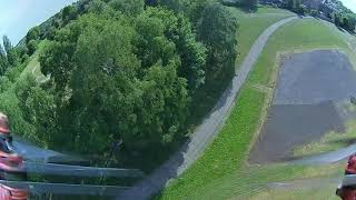 KM Baja chasing with racing drone . Day out with my RC crew. Crash, bash ,boom !!