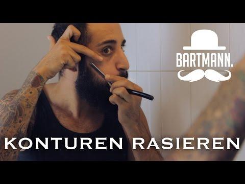 Konturen rasieren & trimmen | How-To by BARTMANN