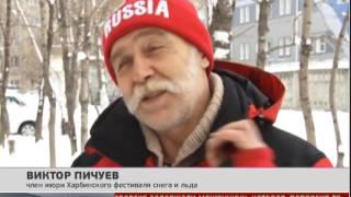 Фестиваль льда и снега. Новости. 17/01/2014. GuberniaTV