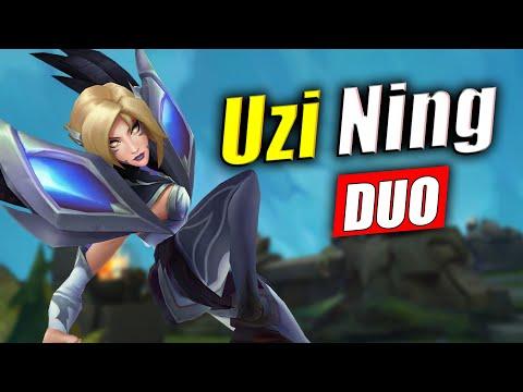 UZI與宁王一起走 輾壓下路