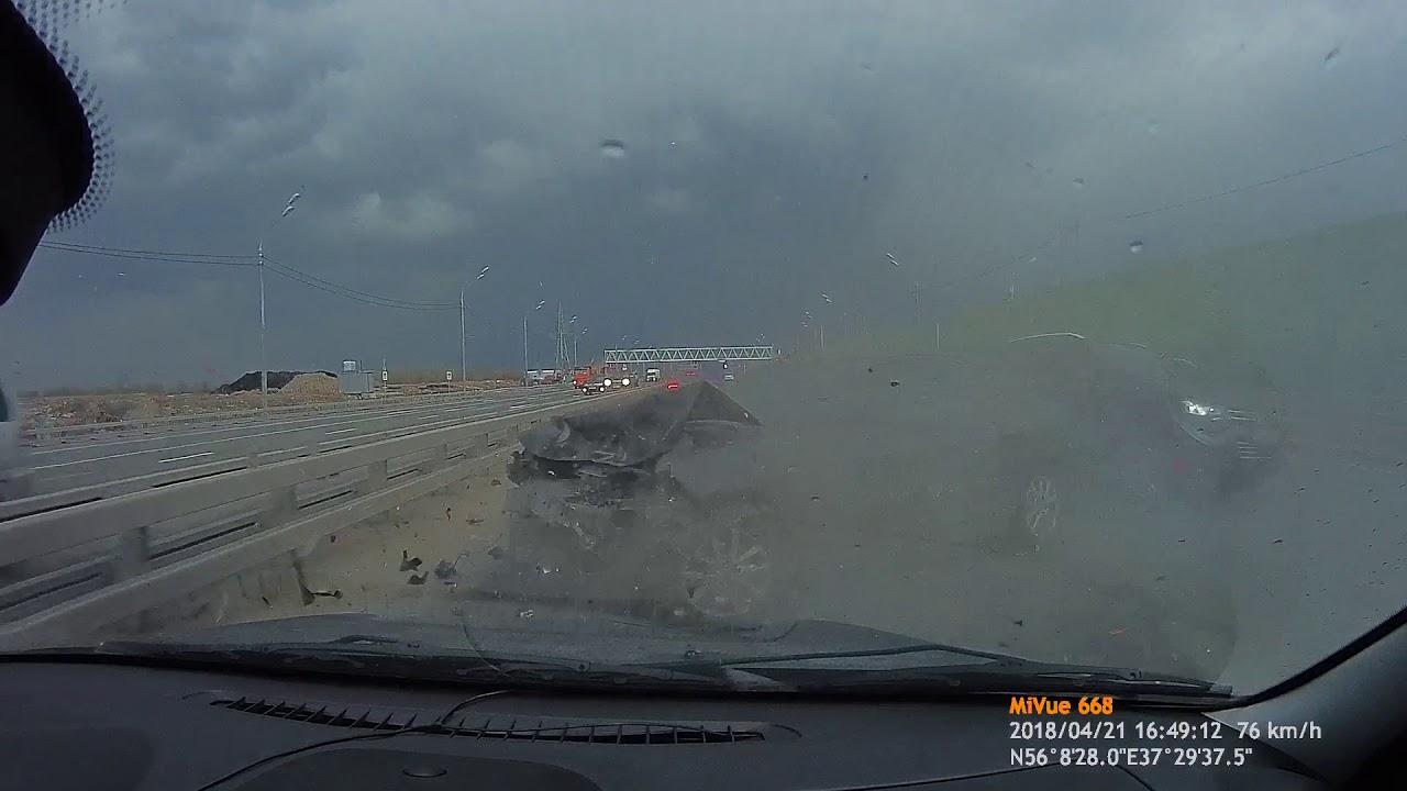 Жесткий замес на Дмитровском шоссе