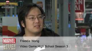 "Freddie Wong Creator of ""VGHS"" Stops by at New York Comic Con 2014"