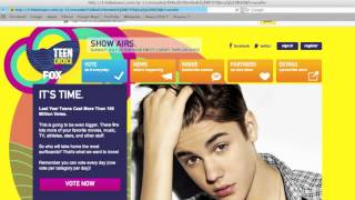 How to: Vote for the Teen Choice Awards (without being from the USA)