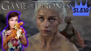 BABY DRAGONS! - Game of Thrones Season 1 Episode 10 Reaction - Tofu Reacts