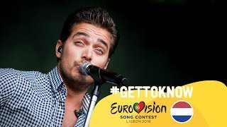 ESC 2018: Get to Know.... WAYLON from THE NETHERLANDS   Eurovision Song Contest 2018 🇳🇱