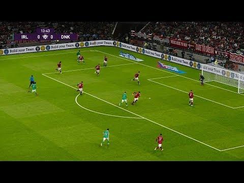 [HD] Ireland vs Denmark | Match Qualification EURO 2020 | 18 Novembre 2019 | PES 2020
