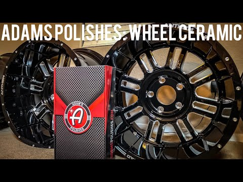 Adams Polishes Wheel Ceramic Coating: Application and Review