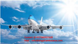 Hire the King Air Ambulance Service from Allahabad and Jamshedpur