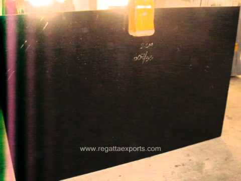 Black Galaxy Granite Commercial Quality Slabs