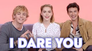 """""""The Chilling Adventures of Sabrina"""" Cast Plays 'I Dare You'   Teen Vogue"""