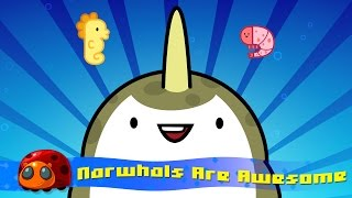 Narwhals Are Awesome : Silly Song : JellyBug