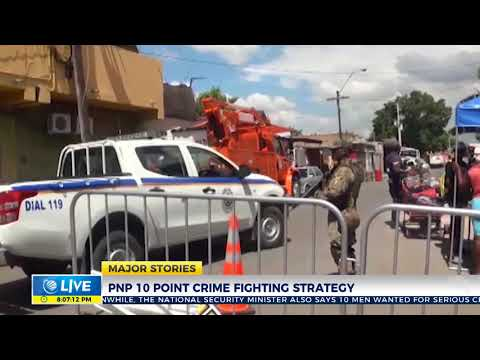 PNP presents 10 point crime fighting plan